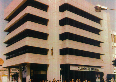 T. İş Bankası A.Ş.- Antalya Merkez Şube ve Hizmet Binası İnşaatı