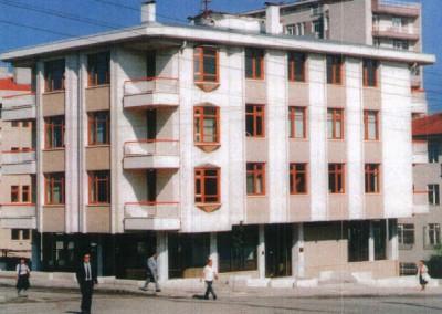 TİBAŞ Vakfı- Çankaya-1 Apartmanı İnşaatı