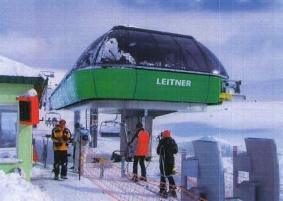 UYB – Uludağ Yatırımcılar Birliği Lift No: 2, Ayrışabilir (Detachable) 4-kişilik Sandalyeli Telesiyej Sistemi